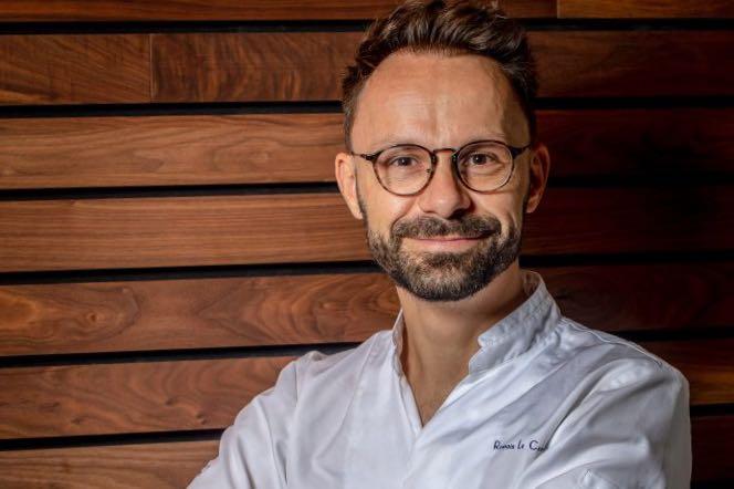 Chef Romain Le Cordroch, invité de l'Institut V